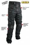 Xelement Mens Tri-Tex & Leather Motorcycle Racing Pants CF2131