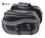 Xelement Waterproof Double Buckle Classic Motorcyc