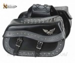 Xelement Waterproof Double Buckle Studded Classic