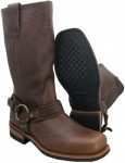 Xelement Dark BrownCrushed Super Harness Boots 1481