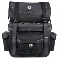 Xelement Waterproof Two-Piece Studded Touring Pack 1538
