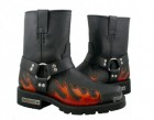 Xelement Harness Flame Motorcycle Boots 1490