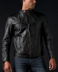 Affliction Silent Leather Jacket
