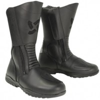 Xelement Men's Tall Instep Black Leather Racing Boot XM-2008