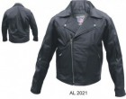 Mens Buffalo Hide Motorcycle Jacket AL2021