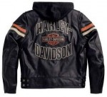 Harley-Davidson Mens Enthusiast 3-In-1 Leather Jacket