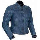 Tour Master Indigo Ladies Denim Jacket