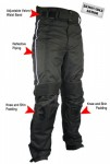Xelement Mens Tri-Tex Motorcycle Racing Pants CF-610