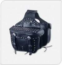 Himalaya 4006 Leather Motorcycle Saddle Bags