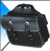 MD Leather Motorcycle Saddlebags SB-0306