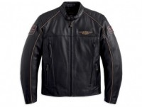 Harley-Davidson Men's Limited Edition 110th Anniversary Leather Jacket 97145-13VM