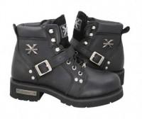 Xelement Advanced Lace Up Biker Boots 1469