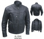 Mens Riding Jacket Vented Front&Back Liner AL2044