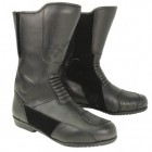 Xelement Men's Instep Black Leather Racing Boot XM-1030