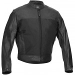 Pecos Leather Mesh Jacket