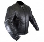 Xelement Classic Mens Cruiser Premium Motorcycle Jacket B7202