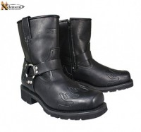 Xelement Harness Flame Motorcycle Boots