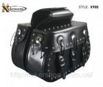 Xelement Waterproof Studded Triple Buckle Conchos X900