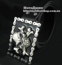 Pirate Skull Bone Bike Chain Buckle