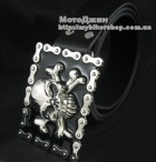 Pirate Skull Bone Bike Chain Buckle