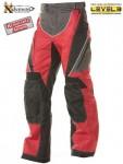 Xelement Black-Red Tri-Tex Motorcycle Pants B4405