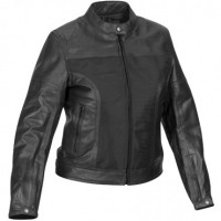 River Road Pecos Leather Mesh Jacket