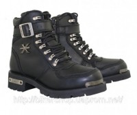 Xelement Cyclone Strap and Zipper Motorcycle Boot
