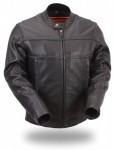FMC Mens Updated jacket with Reflective Piping