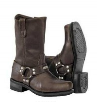 River Road Square Toe Harness -Brown