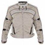 Xelement Silver Igniter Tri-Tex Motorcycle Jacket CF-378