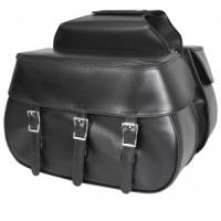 Xelement Triple Buckle Waterproof Saddlebags X950