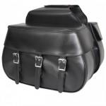Xelement Triple Buckle Waterproof Saddlebags X950