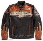 HARLEY Mens Victory Lap Screamin Eagle Leather J