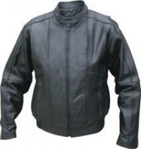 Mens Analine Cowhide Motorcycle Jacket AL2074