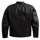 HARLEY Mens Axle Leather Jacket