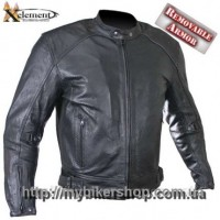 Xelement Cruiser Perforated Leather Motorcycle Jacket B95150