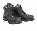 Xelement Wicked Short Motorcycle Boots1504