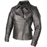 Xelement Women's Punk Studded Biker Jacket XS-783