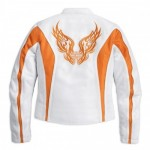 WOMENS HARLEY-DAVIDSON White Sunset Mesh Jacket