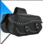 MD Leather Motorcycle Saddlebags SB-0308