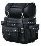 Waterproof Deluxe Motorcycle Touring Pack with Rivets 538-01