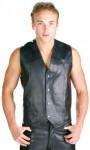 Xelement Classic Men's High Grade Cowhide Leather Vest B210
