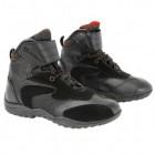 Xelement Men's Lace and Velcro Black Leather Racing Shoe XM-MXW-10