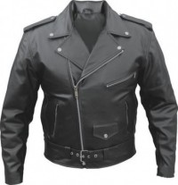 Classic Hi-way Leather Motorcycle Jacket