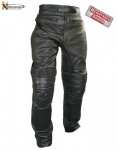 Xelement Mens Armored Cowhide Leather Racing Pants B7466