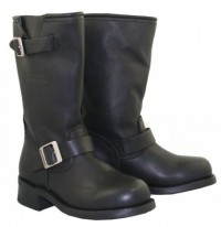 Xelement  Womens Classic Motorcycle Advanced Engineer Biker Boots 2440