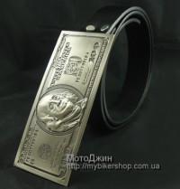 Huge Cash Silver $100 Dollar Note Buckle