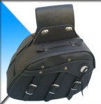MD Leather Motorcycle Saddlebags SB-0354