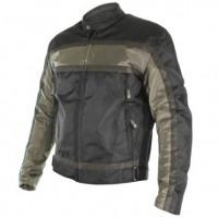 Xelment Men's Stealth Black/Green Gunmetal Armored Textile Jacket XS-2095