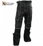Xelement Level-3 Tri-Tex White Stitched Motrocycle Pants B4406